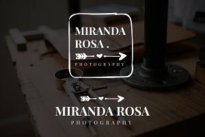 Miranda Rosa Premade Logo