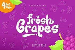 Fresh Grapes Font