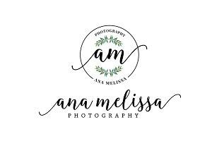 Ana Melissa Premade Logo