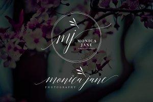 Monica Jane Premade Logo
