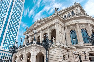 Frankfurt am Main city opera house