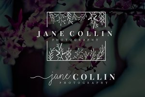 Jane Collin Premade Logo