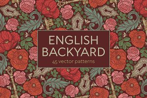 English Backyard patterns -45% OFF