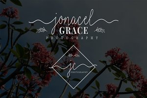 Jonacel Grace Premade Logo