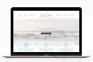 Photography eCommerce Genesis theme