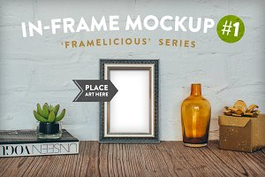 Framelicious. In-Frame Mockup #1