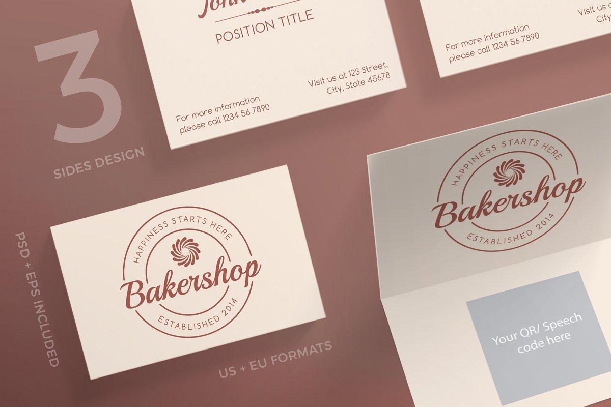 Business Cards | Baker Shop