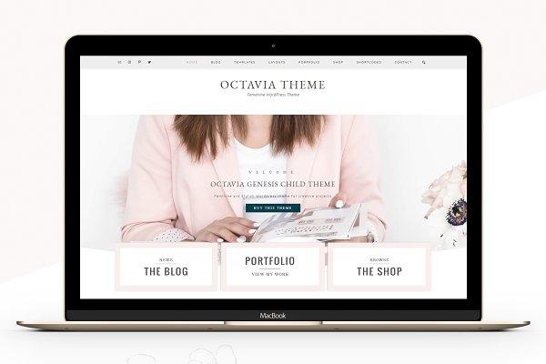 WordPress Photography Themes: Lovely Confetti - Portfolio eCommerce Genesis theme oc
