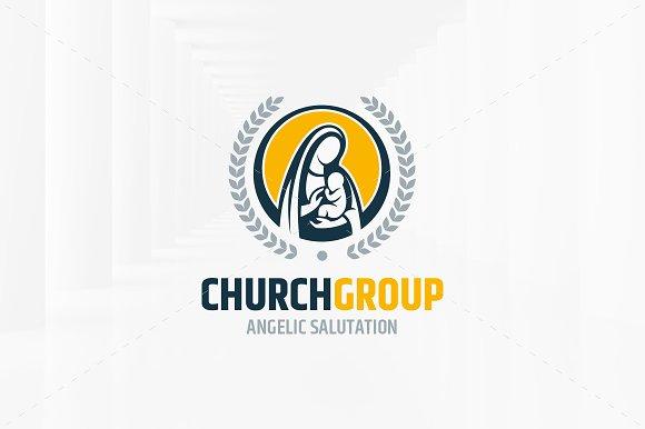 Church Group Logo Template