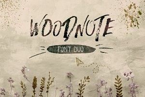 Woodnote Font Duo