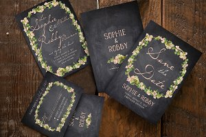 Vintage Flower Wedding Suite