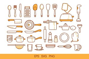 33 kitchen tools