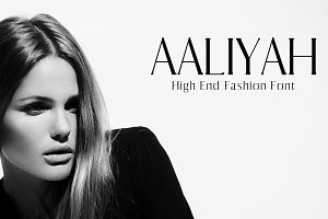 Aaliyah Serif 10 Font Family Pack