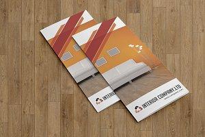 Trifold Interior Brochure - V784