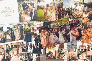 12x12 Wedding Album / Book Wonderful