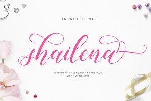 Shailena Script