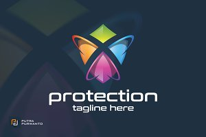 Protection / Shield - Logo Template