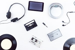 objects for audio recordings