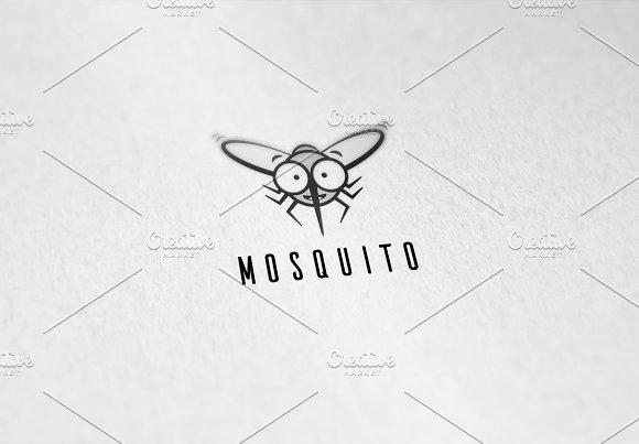 Happy Mosquito Logo