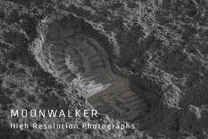 Moonwalker - Footprint photographs