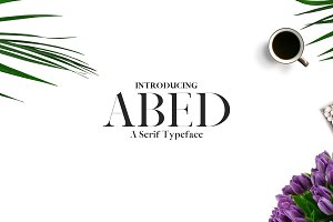 Abed Serif 5 Font Family Pack