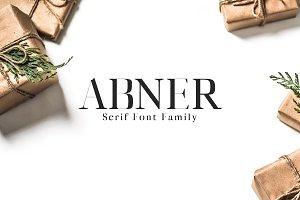 Abner Serif 5 Font Family
