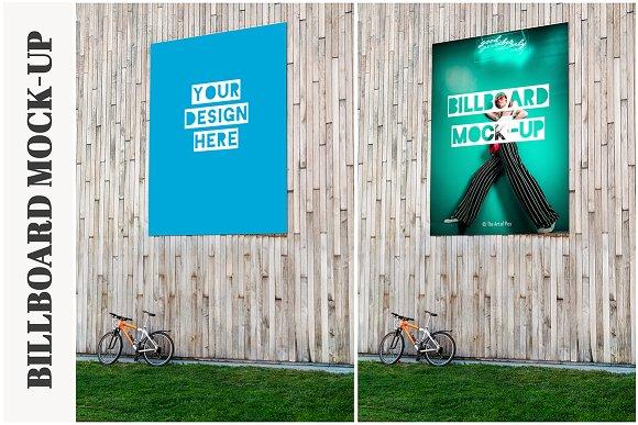 Huge Billboard Mock-up