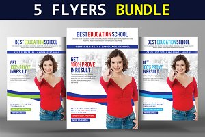 5 Business Flyers Bundle