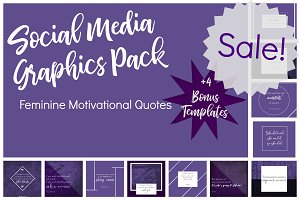 Purple Social Media Pack