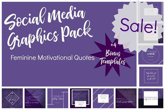 Purple Social Media Pack