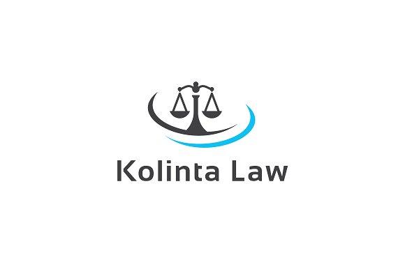 Kolinta Law Logo Template