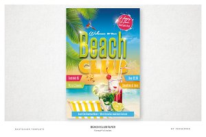 Beach Club Flyer