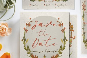 Autumn Floral Wedding Suite