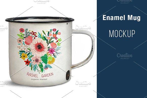 Download Enamel Mug MOCK UP
