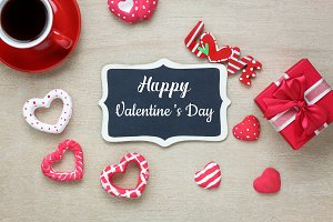 decoration valentine's day backgroun