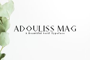Adouliss Mag Serif 9 Font Family