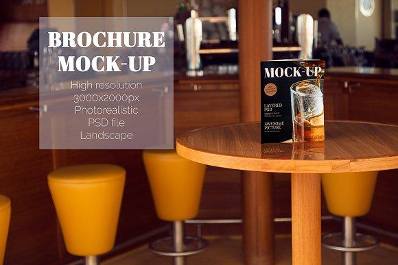 Bar Menu Mock-Up