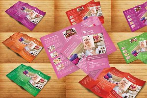 Beauty Spa Tri-Fold Brochure