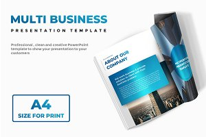 A4 Multi Business PowerPoint