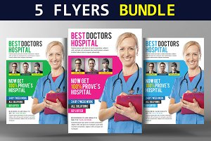 Corporate Flyer Bundle 5 in 1