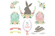 Easter Clip art Elements
