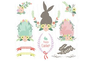 Easter Clip art Elements