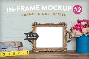Framelicious. In-Frame Mockup #2