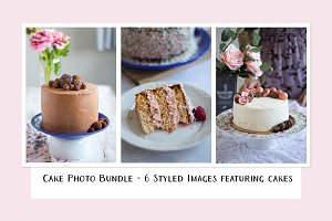 Cake Photo Bundle - 1