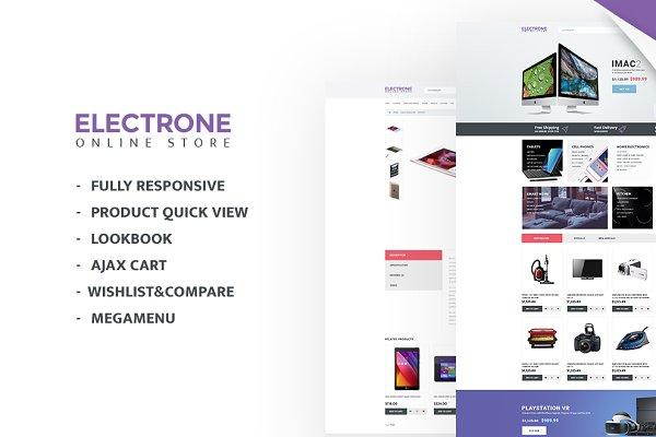 OpenCart Themes: Zemez - Electronics Store Responsive OpenCar