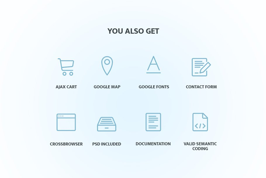 Electronics Store Responsive OpenCar