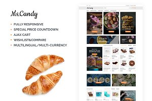 Sweet Shop Responsive OpenCart