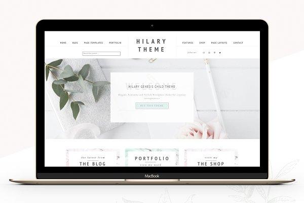 WordPress eCommerce Themes: Lovely Confetti - Portfolio eCommerce Genesis theme Hi