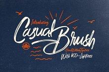 Casual Brush+Swash
