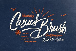 Casual Brush+Swash